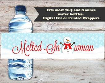 Melted Snowman Christmas Party Drink T