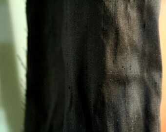"BLACK SILK FABRIC 54"" wide"