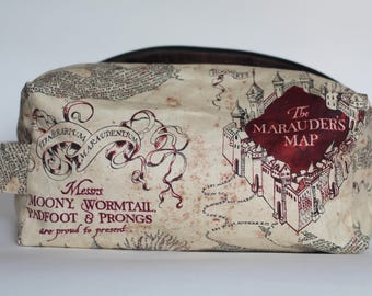 I Solemnly Swear Medium Knitting & Crochet Project/Toiletry Box Bag