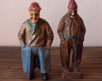 Pair of Sailors with Red Caps