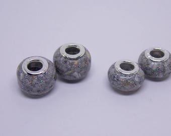 pandora beads, pandora ashes bead, european beads, cremation jewelry, pet memorial bead, pet memorial, pandora charm, cremation bead,