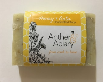 Honey & Oats Handcrafted Soap