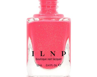 Summer Crush - Vibrant Pink Neon Holographic Nail Polish