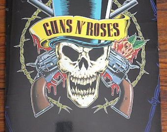 Vintage 1992 Guns N Roses Calendar Use Your Illusion Tour Collectible Rock and Roll Band Souvenir Memorabilia