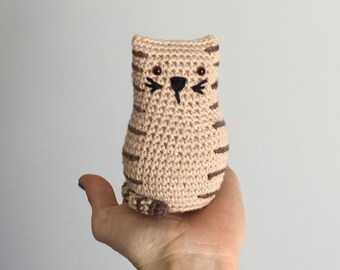 Tubby Tabby Cat Crochet Pattern
