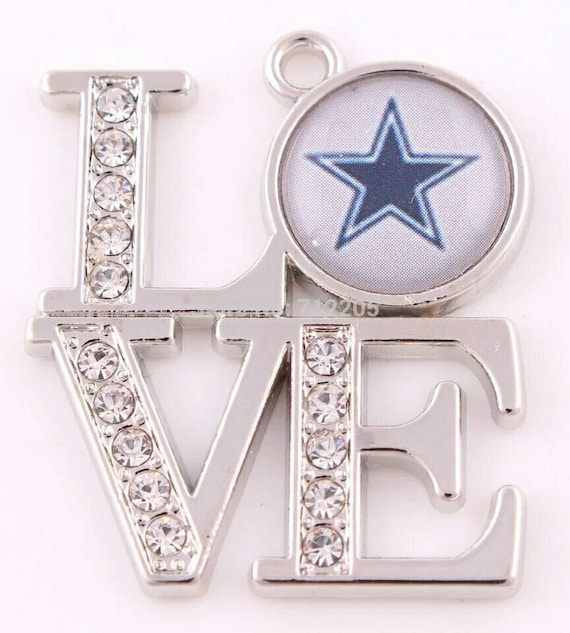 Love dallas cowboys pendant sports charms pro football charm love dallas cowboys pendant sports charms pro football charm dallas cowboys dallas cowboys charm sports fan jewelry cowboys qty1 from aloadofball