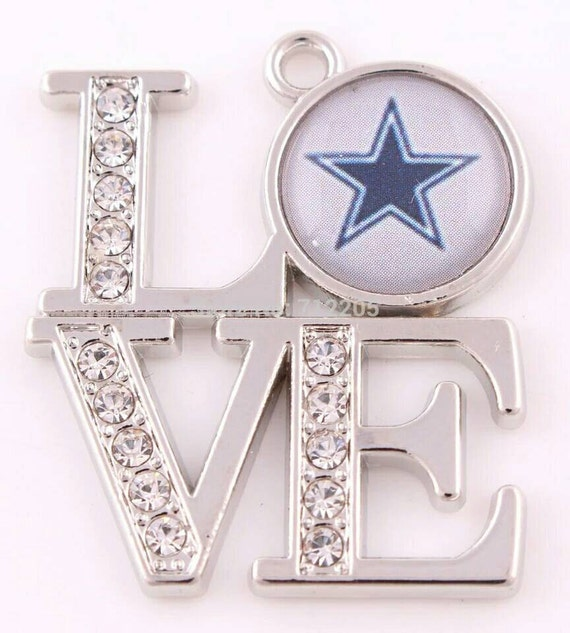 Love dallas cowboys pendant sports charms pro football charm love dallas cowboys pendant sports charms pro football charm dallas cowboys dallas cowboys charm sports fan jewelry cowboys qty1 from aloadofball Images