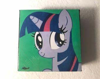 "Adorable ""Twilight Sparkle"" 4X4 Cube"