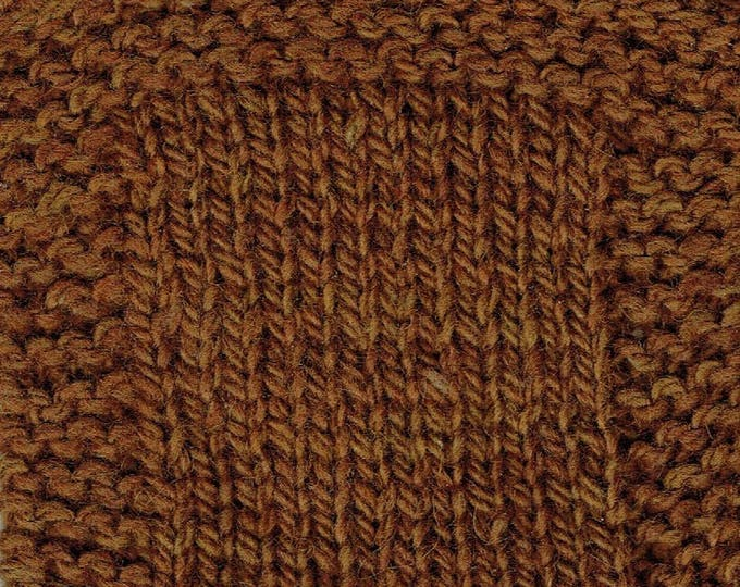 MAPLE SYRUP 3 ply worsted weight kettle dyed yarn from our American farm