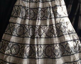 Vintage 1950s Day Skirt