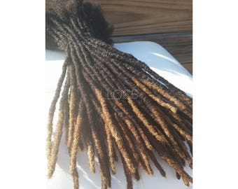 Handmade 100% Human Hair Dreadlock Extensions