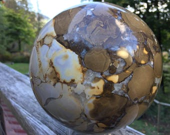 Gorgeous Mookaite Brecciated Jasper Crystal Sphere Carving! Perfect for Home Decor, Collectors, Sacred Space, Meditation, or Metaphysical u