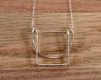 Shapes Necklace - Sterling Silver