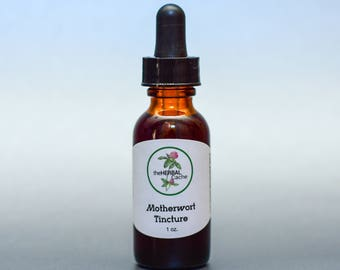Motherwort Tincture - Herbal Tincture that Supports the Heart, Blood Pressure and Nervous System