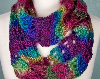 Crochet Cowl Pattern: Unforgettable Waves Cowl, PDF download
