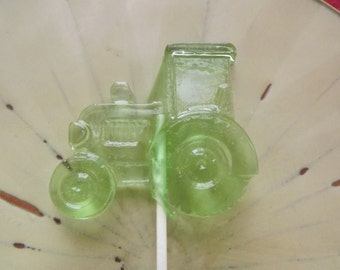 10 Tractors Tractor John Deer Suckers Lollipops Birthday Farm Party Favors