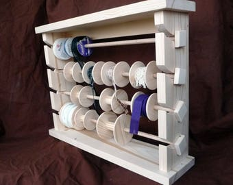 display unit for braid and ribbon