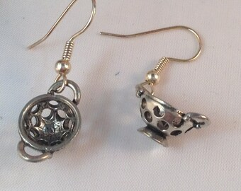 Colander Charm Earrings