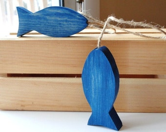 Wood Fish Home Decor Rustic Lakehouse Country Cabin Gone Fishing