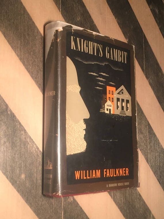 Knight's Gambit by William Faulkner (1949) first edition book