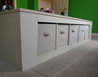 Kids Play Table With Storage compartment
