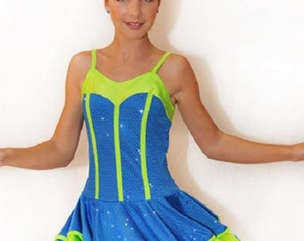 Dance cheerleader costume