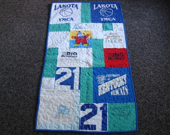 Custom T-shirt Quilt - Crib - No Money Down