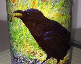 Raven Large Coffee Mug 15 Oz