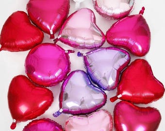 Mini heart balloon