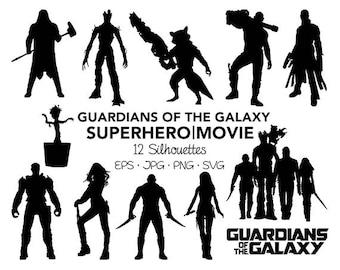 guardians galaxy svg etsy