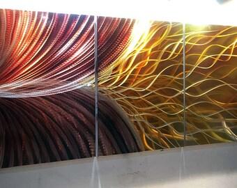METAL WALL ART Metal Painting Wall Art. Metal Wall Modern Contemporary Metal Wall Art Oil Painting Wall Art. Painting on Aluminum.