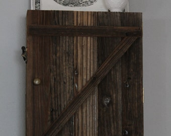 Reclaimed Wood Cabinet, Reclaimed Wood Shelves,Hanging Cabinet,Bathroom Organization,Kitchen Storage,Farmhouse Cabinet,Bathroom Wall Cabinet