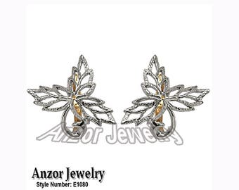 925 Sterling Silver Design Earrings E1080