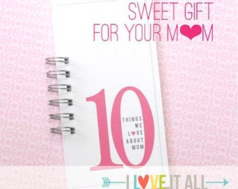 Mothers Day Gift for Mom Nana Granny Daughter Sister Aunt . 10 Things Love About Mama Momma Mommy Mother Birthday Card Coupon . What I Love
