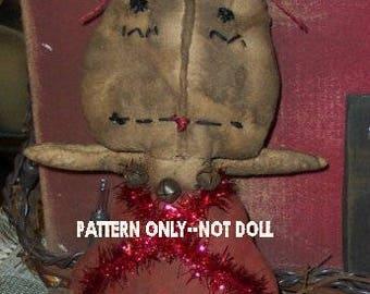 Raggedy Ann epattern-NOT DoLL, Angel doll Crows Roost Prims 172e  Primitive Little epattern SALE immediate download