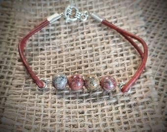 Leopard Skin Bracelet