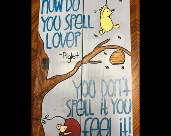 Pooh and piglet, love