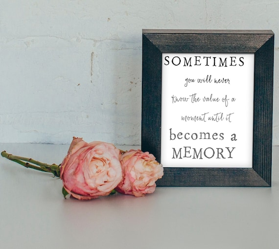 Remembrance Gift/Remembering A Loved One/In