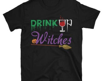 Halloween Drink Up Witches Awesome Party Men's/Women's T-Shirt