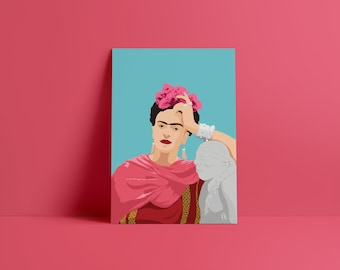 Frida Kahlo, Digital Print