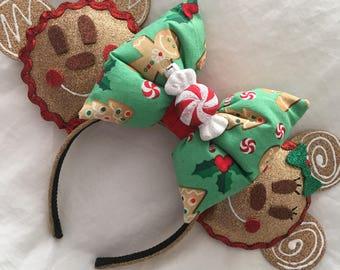 Christmas Gingerbread Ears