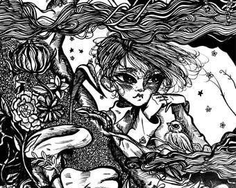Garden - original artwork