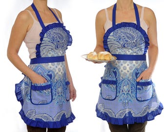 Cooking Apron Baking Apron Coffee Gift Full Womens Apron Cooking Gift for Wife Kitchen Apron Chef Apron Pinafore Apron Kitchen Gift for Mum