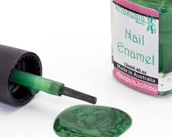 12ml Nail Polish - Jungle Vine - Metallic Green