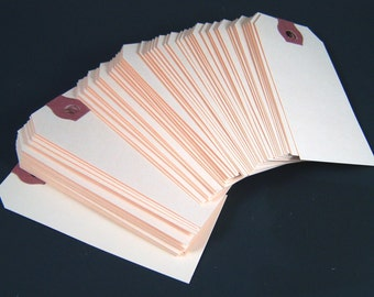 "1000 Small Shipping Tags - 1 5/8""  x 3 1/4"" - Size #2 Manila Tag"