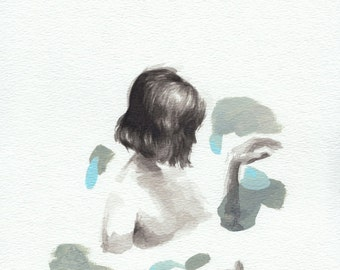 Certain/Uncertain .  giclee art print