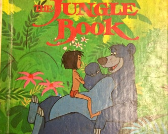 5 Books for 10 Bucks  Vintage Children's Book The Jungle Book Little Golden Book