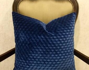 Luxury Navy Blue Velvet Pillow Cover, Navy Pillows, Velvet Pillow, Pillows, Decorative Throw Pillow, Cushions, Navy Velvet Pillow Covers