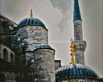 Blue Mosque-Istanbul, Turkey-Travel Photography-multiple Sizes Available-Color-Fine Art Photography-Gift