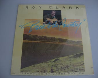 NEW! Factory Sealed - Roy Clark  -  Back To The Country - Circa 1981